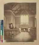 Interior view of Ambatovinaky Church, Antananarivo, Madagascar, ca.1875