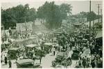 Stockton - Social Life and Customs: Crowd gathering