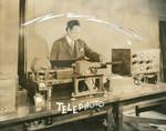 Telephoto machine