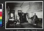 Domestic staff in kitchen of Girls' School, Hanyang, China, ca. 1937