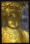 Golden Buddha statue, China, ca.1917-1923