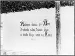 Inside of the chapel near Mamba, Tanzania, ca.1901-1910