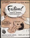 The third annual gospel, spiritual, and folk music festival, New York, 1961
