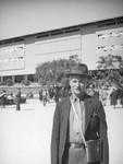 Herman Schultheis at Santa Anita Racetrack