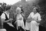 Karen Bardenfleth and Mette Anne Pedersen on holiday at Kotagiri, ca. 1935, Karen Bardenfleth og Mette Anne Pedersen på ferie i Kotagiri.ca. 1935