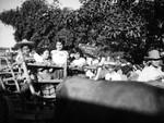 Children in oxcart, Olvera Street
