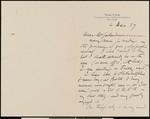 Arthur Rackham, letter, 1927-12-04, to Hamlin Garland