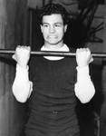 Aragon lifting weights
