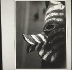 Mask from a funeral ceremony in Kotawaringin, Maske v. Totenfest i. Kotawaringin