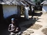 Outdoor kitchen, Bankim, Adamaoua, Cameroon, 1953-1968