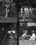 Women in the gardens, Busch Gardens
