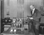 Cranking up the motor, telephotography station