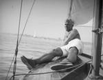 Herman Schultheis on a Newport Beach sailing trip