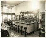 Interior of Dundus Pharmacy, 28 Bolinas Road, Fairfax, Marin County, California, circa 1930 [photograph]