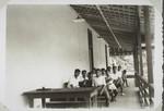 Bandjermasin: Internat Veranda, Bandjermasin: The veranda of the boarding school