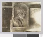 Jack London bas relief