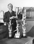 L. A. Athletic Club trophies