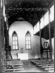 The chapel near Mamba, inside, Tanzania, ca.1901-1908