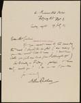 Arthur Rackham, letter, 1923-07-29, to Hamlin Garland