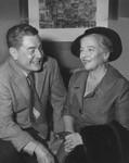 Pearl Buck visits Leo McCarey