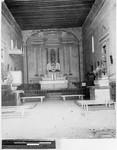 Interior of church at San Juan Peyotan, Mexico, 1944