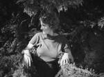 Ethel among the boughs