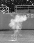 Smoke on the field