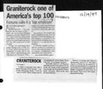 Graniterock one of America's top 100