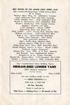 Junior Light Opera Club of the San Fernando Valley production of Rose Marie program, 1949