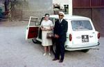 Missionary Grethe Jensen is departing Aden after 25 years of service and is followed by Mubarak, Missionær Grethe Jensen forlader Aden efter 25 års tjeneste sammen med Mubarak Ibrahim, der skal på besøg i Danmark