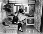 Interior of a trailer home