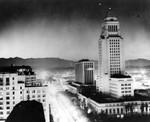 Nuclear test lights up sky