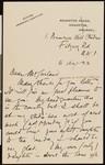 Arthur Rackham, letter, 1922-08-16, to Hamlin Garland