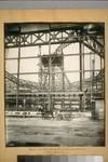 Erecting steel frame Exposition Auditorium (Civic Center). 1729
