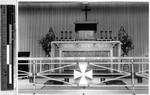 Fr. Witte's altar, Hikone, Japan, ca. 1938