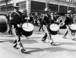 Armistice Day parade down Broadway