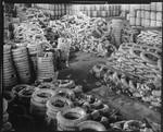Factory storage area, Bethlehem Steel Company. 1936