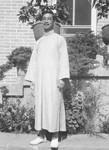 Pastor Teng, lærer ved Evangelistskolen i Pitsaikou. Danmission Photo Archive, Pastor Teng, teacher at the evangelist school in Pitsaikou