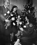 Rag dolls given as Christmas gifts