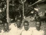 African pastors, in Ngomo, Gabon