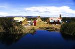 Village near water