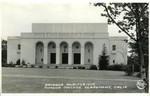 Bridges Auditorium postcard, Claremont University Consortium