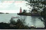 Postcard, Narrows Light, Gananoque [Ontario]