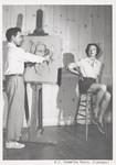 Artist with model, Scripps College