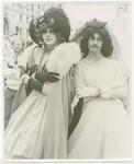 Celebrants in gowns