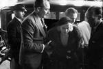 Jean Harlow at husband's funeral