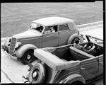 Ford convertible sedans. 1935