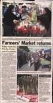 Farmers' Market returns