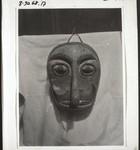 Mask (Sabuka) from the funeral ceremonies on the Kahajan, Maske (Sabuka) von den Totenfesten a. Kahajan