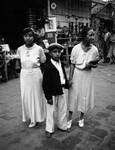 Family group, Olvera Street